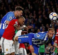 英超-曼联爆冷0-1客负升班马