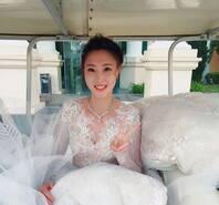 郎才女貌!最美女排队长惠若琪婚纱照曝光