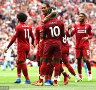 开门红!利物浦4-0大胜西汉姆联