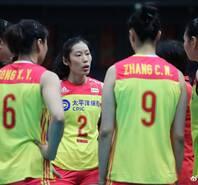 朱婷20分中國女排3-0零封泰國