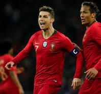 热身赛-C罗补时追平+绝杀 葡萄牙2-1埃及