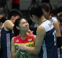 中国女排3-1擒俄罗斯轻松进6强