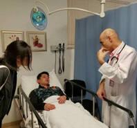 张继科赛后挂急诊 教练:能否继续打要看医生