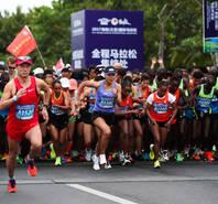 2017海南(三亚)马拉松赛开跑