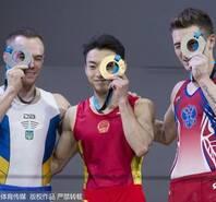 体操世锦赛邹敬园双杠夺冠 林超攀第五