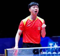 中国男团3-0横扫瑞典 率先杀入决赛