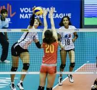 中国女排3-1胜泰国 李盈莹遭雪藏