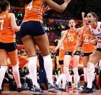 美国回家!荷兰女排携手中国女排进四强