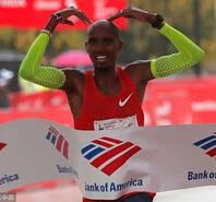 法拉赫芝加哥馬拉松奪冠 日本選手再破亞洲紀錄
