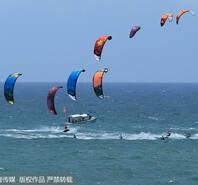 风力升级!国际风筝冲浪节的别样精彩