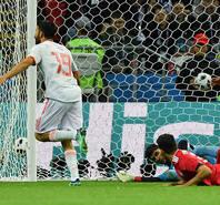科斯塔造乌龙破门 西班牙1-0伊朗