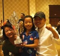 8岁女儿成世界冠军!刘国梁乐开花