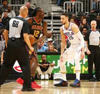 NBA-76人轻取老鹰 斩获15连胜