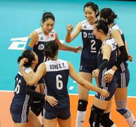 女排世锦赛-中国3-1荷兰 晋级4强
