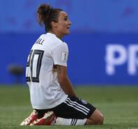 残酷一幕!奥运冠军女足世界杯出局