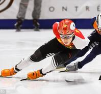 短道世界杯男女混合2000米接力中国队夺冠