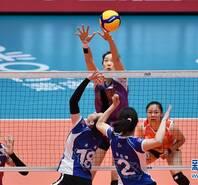 朱婷15连发!总决赛天津女排3-0迎开门红