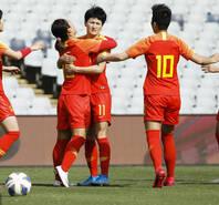 2连胜!中国女足提前晋级奥运会附加赛