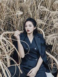 GNZ48刘力菲时尚造型冷酷霸气 展露锋芒