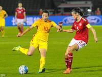 四国赛-任桂辛世界波 女足1-0丹麦夺冠