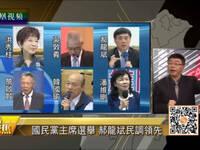 国民党主席选举竞争激烈 郝龙斌民调领先