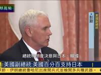 美副总统会见安倍:美国百分百支持日本