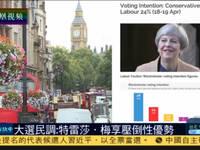 英反对党工党启动大选造势活动 特蕾莎梅支持率上升