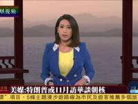 美媒:特朗普或11月访华谈朝核问题
