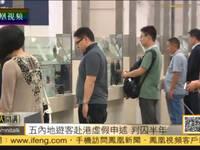 五名内地游客持无效机票假称过境香港被判入狱