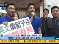 """蔡政府前瞻计划强行闯关 蓝绿""""立委""""打成一团"""
