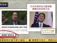 日本外相岸田文雄表态挑战安倍首相大位