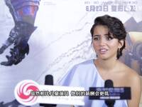 凤凰网娱乐独家专访《变形金刚5》伊莎贝拉·莫奈