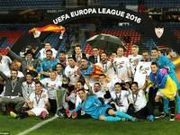 欧联杯-塞维利亚3-1利物浦 成就三连冠