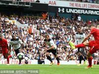 英超-米尔纳点射 利物浦客场1-1热刺