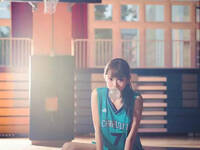 台湾邻家小妹酷爱篮球 清纯到犯规!