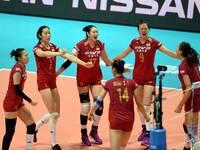 中国女排3-0胜荷兰 豪取大奖赛7连胜