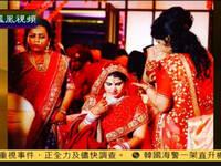 """印度""""土豪""""婚礼:扛枪卫队运送新娘首饰"""
