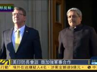 印度防长访美会见美防长 讨论美印军事合作