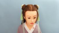 视频:儿童简单古装发型梳法 小女孩中长发发型扎法