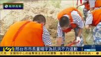 邢台市长董晓宇道歉 承认抗洪应急能力不足