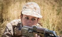 沙漠狂花:那些能打能看的库尔德美女战士