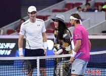 那英为中网半决赛挑边 握手穆雷变迷妹