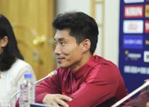 里皮郑智出席国足赛前发布会