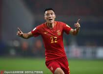世预赛十二强赛:于大宝进球中国1-0韩国