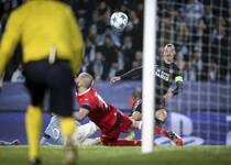 欧冠-迪马利亚双响 巴黎5-0胜马尔默