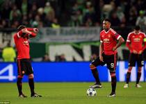 欧冠-马夏尔进球成徒劳 曼联2-3出局