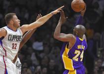 NBA-快船大胜湖人 取洛城德比十连胜