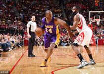 NBA-科比35分对飚哈登40+13 湖人负火箭