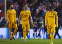 欧冠-马德里竞技2-0巴塞罗那