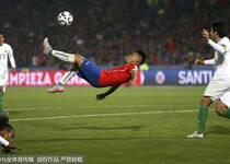美洲杯-智利5-0获小组头名 玻利维亚惨败仍晋级